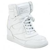 na koturnie obuwie sportowe Marc Jacobs w kolorze białym