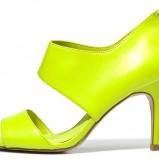 na szpilce sandałki C&A - w kolorze limonkowym