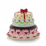Nastrojowa zakryta patera na ciasto -aranżacja Home&You