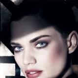 Naturalny, brązowy makijaż Laura Mercier moda 2012