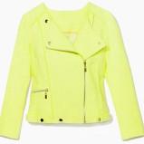 neonowa kurteczka Mohito w kolorze żółtym - moda na wiosnę 2013