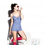 niebieska bielizna Twin Lingerie - z kolekcji wiosna-lato 2011