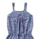 niebieska bluzeczka Geox w łączkę - wiosna 2012