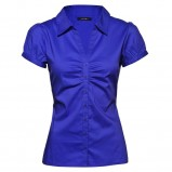niebieska bluzka New Yorker rozpinana - wiosna/lato 2012