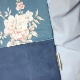 niebieska kopertówka Zuzia Górska - trendy zimowe