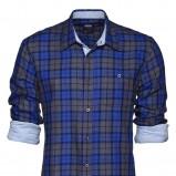 niebieska koszula New Yorker w kratkę - kolekcja jesienna