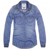 niebieska koszula Reserved jeansowa - jesień/zima 2012/2013