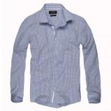 niebieska koszula Reserved w kratkę - trendy 2012