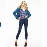 niebieska koszula Tally Weijl w kratę - trendy na jesień-zimę