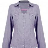 niebieska koszula Tally Weijl - z kolekcji jesień/zima 2012/13