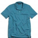 niebieska koszulka Kappahl polo - trendy wiosna-lato