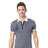 niebieska koszulka Mexx polo