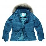 niebieska kurtka Big Star z futerkiem - jesień/zima 2011/2012