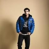 niebieska kurtka Cottonfield pikowana - trendy na jesień-zimę