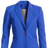 niebieska marynarka H&M - wiosna/lato 2012