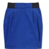 niebieska spódnica House - jesień/zima