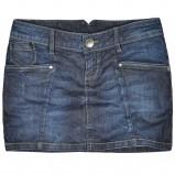 niebieska spódnica Reserved dżinsowa - jesień/zima 2011/2012