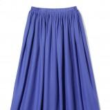 niebieska spódnica Reserved plisowana - wiosna/lato 2012