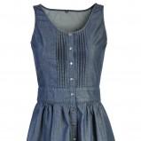 niebieska sukienka Camaieu - wiosna/lato 2011