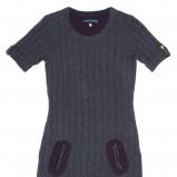niebieska sukienka Carry z kieszeniami - jesień/zima 2011/2012