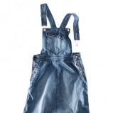 niebieska sukienka H&M dżinsowa - jesień 2011