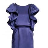 niebieska sukienka H&M - jesień/zima 2010/2011