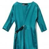 niebieska sukienka Lobster - trendy zimowe