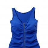 niebieska sukienka Mohito - trendy zimowe