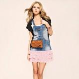 niebieska sukienka Tally Weijl dżinsowa - wiosenna kolekcja