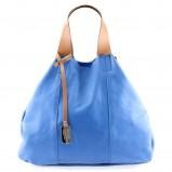 niebieska torebka Prima Moda - lato 2012