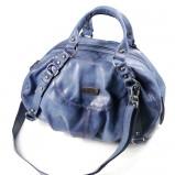 niebieska torebka Venezia ze skóry - moda 2011