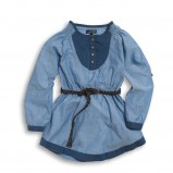 niebieska tunika KappAhl - wiosna-lato 2012