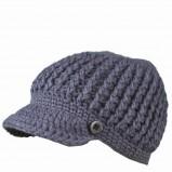 niebieski czapka z daszkiem Top Secret - moda zimowa