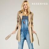 niebieski kombinezon Reserved dżinsowy - kolekcja wiosenno/letnia