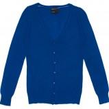 niebieski sweter Butik rozpinana - trendy zimowe