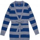 niebieski sweter Carry w paski - jesień/zima 2011/2012