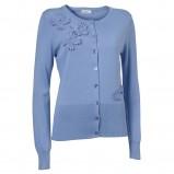niebieski sweter Jackpot rozpinany - wiosna-lato 2011