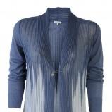 niebieski sweter Molton rozpinana - wiosna/lato 2011