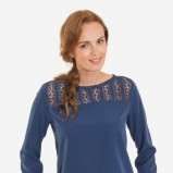 niebieski sweterek Greenpoint