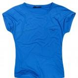 niebieski t-shirt Reserved - kolekcja jesienno-zimowa
