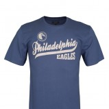 niebieski t-shirt Top Secret z nadrukiem - lato 2012