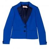 niebieski żakiet BGN - moda wiosna/lato