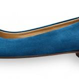 niebieskie baleriny Tamaris - wiosna/lato 2012
