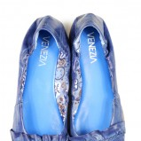 niebieskie baleriny Venezia - trendy wiosna-lato