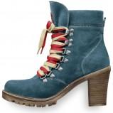 niebieskie botki Tamaris - moda 2011/2012