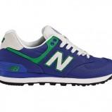 niebieskie buty sportowe New Balance - kolekcja jesienno-zimowa 2013/14
