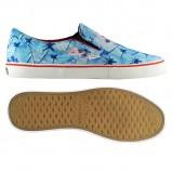 niebieskie buty Superga