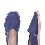 niebieskie czółenka Clarks materiałowe - lato 2012
