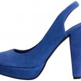 niebieskie czółenka H&M - wiosna/lato 2012