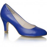 niebieskie czółenka Vagabond na obcasie - z kolekcji wiosna-lato 2012